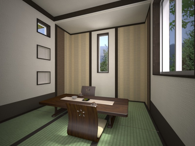 富士市富士岡新築建売住宅和室イメージ